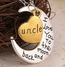 20pcs wholesale i you to the moon and back family gift