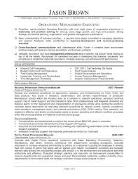sle executive resume cover letter manufacturing manager resume manufacturing manager