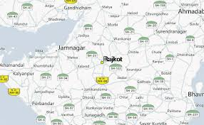 map of rajkot rajkot india map images