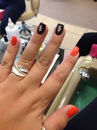 cleveland browns nails nail art pinterest brown nail