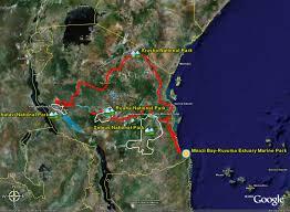 Map Of Tanzania Map Google Map Of Tanzania