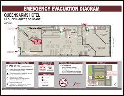 pl evacuation floor plans