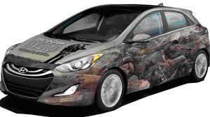 survival car hyundai creates zombie survival machine