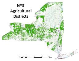 Map Of New York State Counties by New York State Department Of Agriculture And Markets