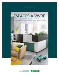 mobalpa cuisine catalogue espaces à vivre mobalpa catalogue pdf documentation brochure