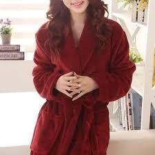 robe de chambre hiver robe de chambre polaire confort femme foncé à col châle