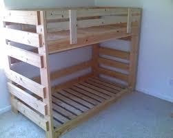 Pallet Bunk Beds Image Detail For Building A Bunk Bed Make Bunk Beds For Profit