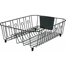 Kitchen Drying Rack For Sink by Large Dish Drying Rack Dishes Drainer Sink Side