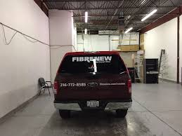 Ford F150 Truck Wraps - wrapping a ford f150 in warrensville heights oh for fibrenew