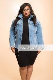plus size light jacket new plus size distressed jacket with button front in light denim