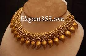 necklace designs images Gold choker necklace designs elegant 365 jpg