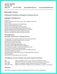 Job Resume Company by Cocktail Server Resume Skills Are Needed So Much By The Company Or