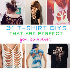 Girly Cool Things To Buy Cheaper Than A Shrink by 31 T Shirt Diys That Are Perfect For Summer Things To Attempt