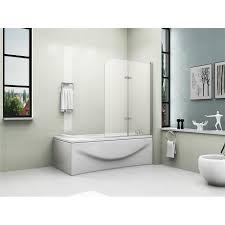 Curved Shower Bath Screen 28 1400mm Shower Bath 180 176 Pivot Glass 2 Fold Shower