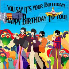 beatles birthday card beatles merchandise store beatles greetings