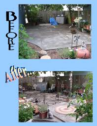 recycled concrete patio the petaluma spectator