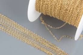 gold filled necklace chains images 200 feet 14k gold filled chain 1 3mm 2 0mm round cable chain jpg
