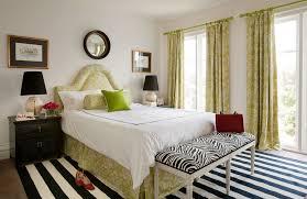 Light Green Bedroom - teenage bedroom ideas round mirror light green motif curtain big