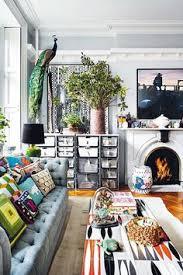 bohemian living room in primarily black u0026 white la vie boheme