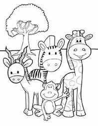 zoo animal coloring pages u2013 pilular u2013 coloring pages center