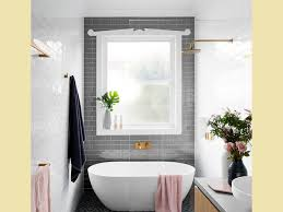 Trim For Bathroom Mirror by Bathroom Dressing Beige Floor Tile Built In Bench Skylight Mirror