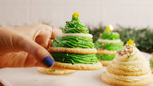 Christmas Tree Frosting Best Sugar Cookie Tree Recipe How To Make Sugar Cookie Trees