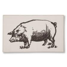 Kitchen Rug Target Pig Kitchen Rug