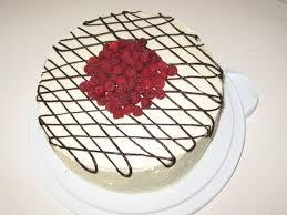 white chocolate raspberry birthday cake cakecentral