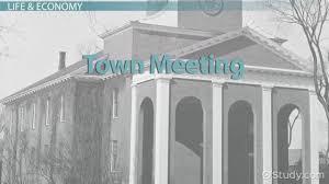 massachusetts bay colony religion history u0026 economy video