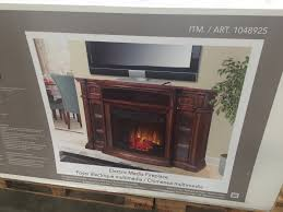 electric fireplace tv console at costco u2013 budgetcostco com