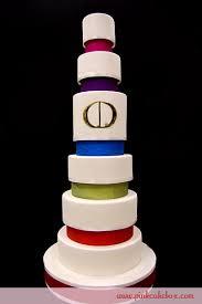 visual glossary of cake terms pink cake box