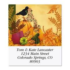 thanksgiving labels thanksgiving address labels colorful images