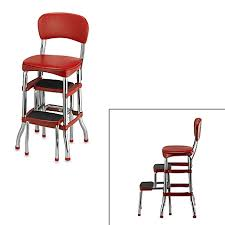 Library Step Stool Chair Combo Ladders U0026 Stepstools Bed Bath U0026 Beyond