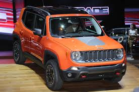 jeep renegade orange 2017 jeep renegade 2015 jeep renegade trailhawk show floor on stage