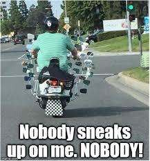 Overkill Meme - motorcycle mirror overkill imgflip