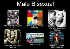 Gay Community Meme - male bisexual and the gay community thinks we have it easier