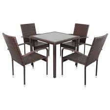 Wicker Patio Dining Table Protect The Top Of A Wicker Patio Dining Table Boundless Table Ideas