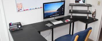 How To Make A Computer Desk Diy Sitting Standing Desk