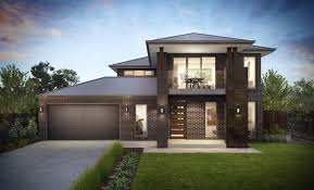 narrow lot homes two storey small architecture plans 50339