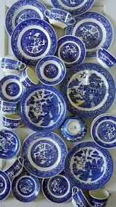 192 best vajilla y diseños en blue willow images on pinterest