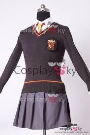 harry potter gryffindor uniform hermione granger cosplay costume
