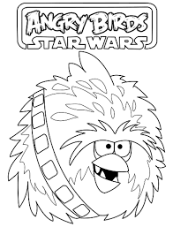 angry birds star wars coloring pages getcoloringpages