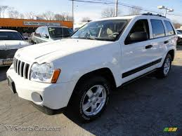 2006 jeep grand cherokee laredo 4x4 in stone white 330162