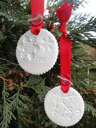 pine is here clay ornaments