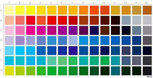 palette pantone color palette