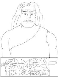 bible coloring pages samson coloring pages free printable bible