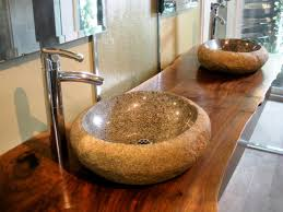 Sinking In The Bathtub by Stylish And Diverse Vessel Bathroom Sinks