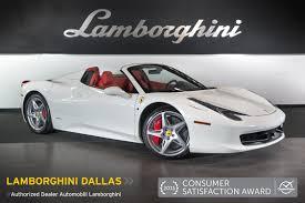 Ferrari 458 Italia Interior - 2013 ferrari 458 italia spider gloss white l0783 youtube