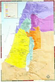 Gennesaret Map Palestine In Jesus U0027 Time