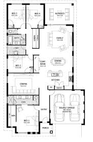 4 bedroom house plans 1 story amusing house plans 1 floor photos best idea home design